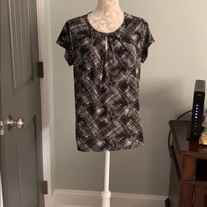 Plus size premise studio blouse